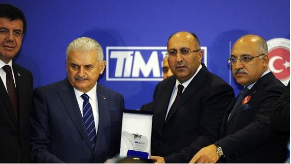 Türkiye'ye en çok döviz getiren Odeon Turizm ödül aldı