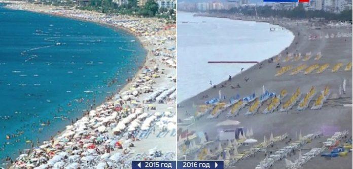 Antalya 5 milyon turist kaybetti