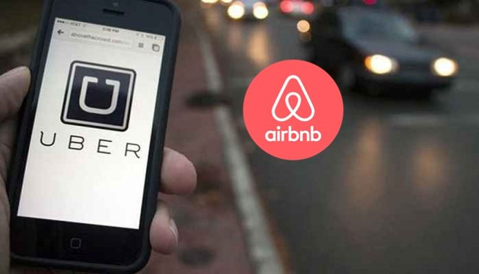 airbnb and uber ile ilgili görsel sonucu