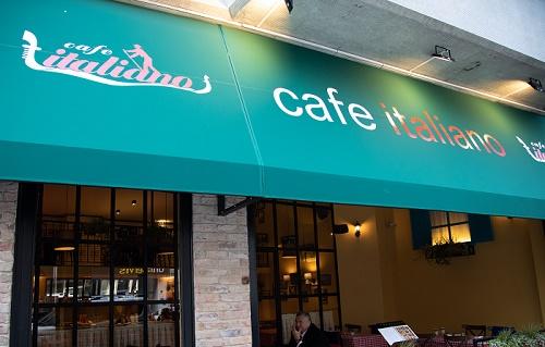 Cafe İtaliano, İtalyan Trattoria tarzı dekorasyonu ile her zaman misafir memnuniyetinin ön planda tutuyor.