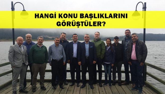 TÜRSAB Eski BYK Başkanları 2019 Abant Buluşması / turizmgunlugu.com