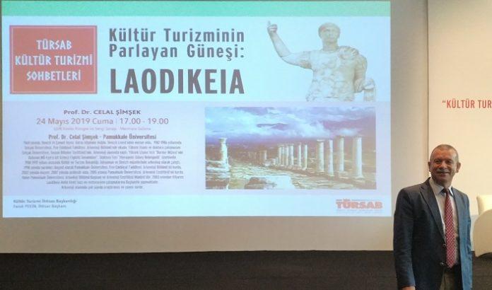TÜRSAB Kültür Turizmi Sohbetlerinde Anadolu İnsanının Kurduğu Şehir Laodikeia Tartışıldı