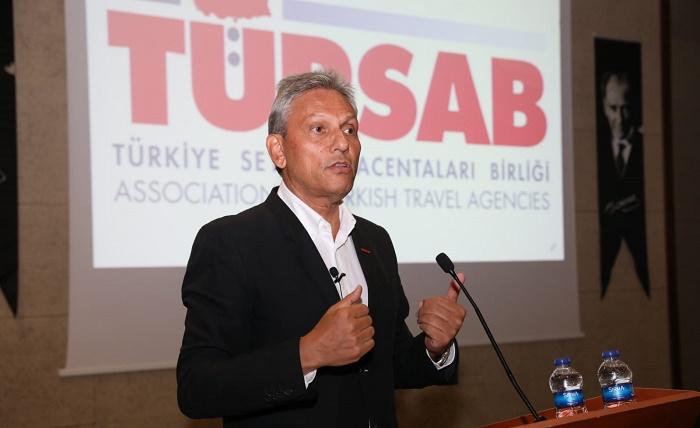 TÜRSAB Yönetim Kurulu Başkanı Firuz B. Bağlıkaya