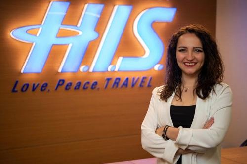 H.I.S. Türkiye Japon Inbound Müdürü ve Genel Müdür Yardımcısı Merve Özkök