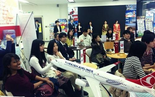 Japonya ile Türkiye arasındaki turizm köprüsü güçleniyor.