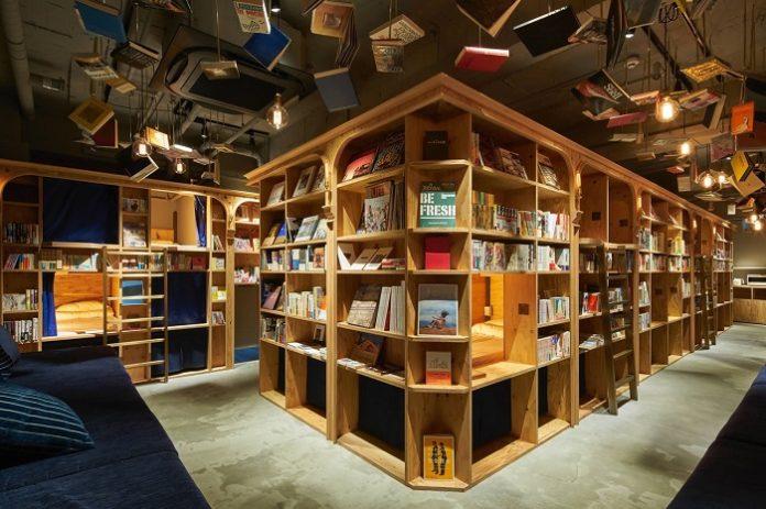 Farklı bir konaklama seçeneği: Kütüphane Oteller