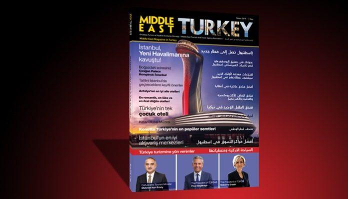 Middle East Turkey Dergisi'nin ilk sayısı