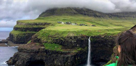 Mulafossur Şelalesi, Faroe Adaları