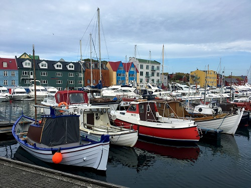 Torshavn-Faroe Adaları