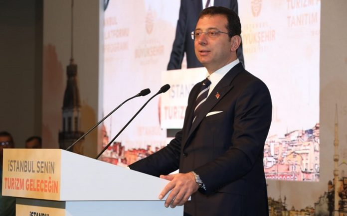 İstanbul Büyükşehir Belediyesi Başkanı Ekrem İmamoğlu
