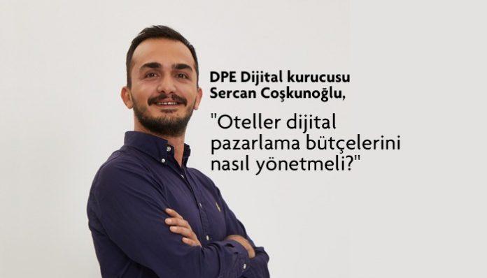 DPE Dijital kurucusu Sercan Coşkunoğlu