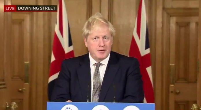 İngiltere Başbakanı Boris Johnson,