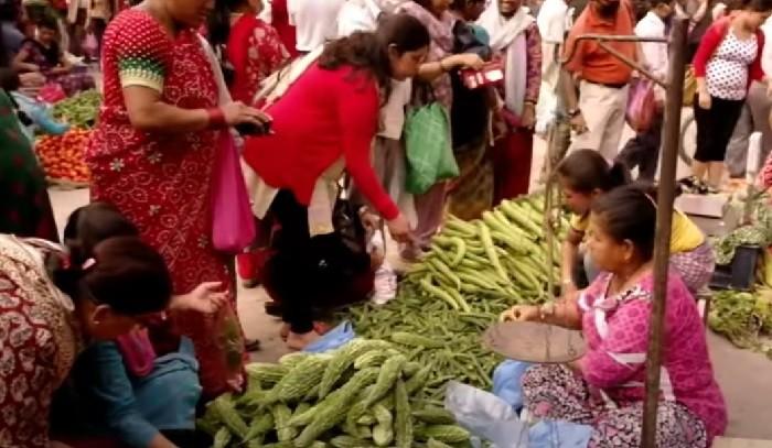 Nepal organik pazar