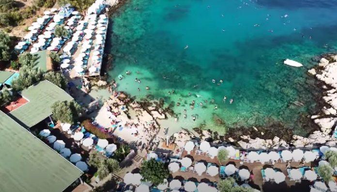 Antalya Kaş ilçesi Çukurbağ Yarımadası Hidayet Koyu