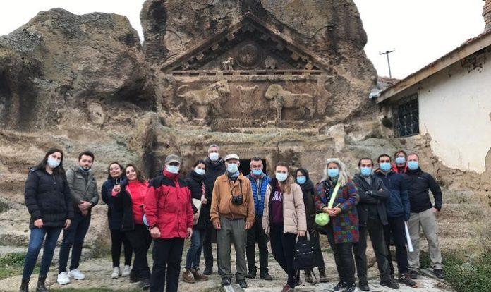 """""""Turist Rehberleri Frigya Bölgesine Tur Tasarlıyor"""" projesinin eğitimleri gerçekleştirildi"""