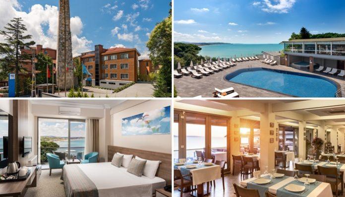 Sarıyer Kilyos'ta satılık otel ve turizm imarlı arsa