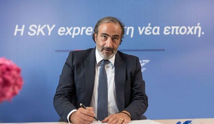 Sky Express CEO Ioannis Grylos