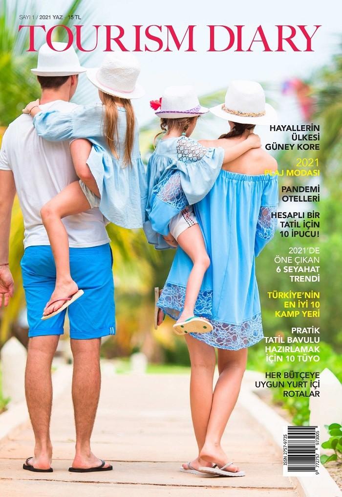 Tourism Diary - dergi, magazine, turizm dergileri